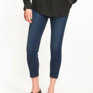 SOLD - J Brand Mid-rise Skinny Jeans Cropped
